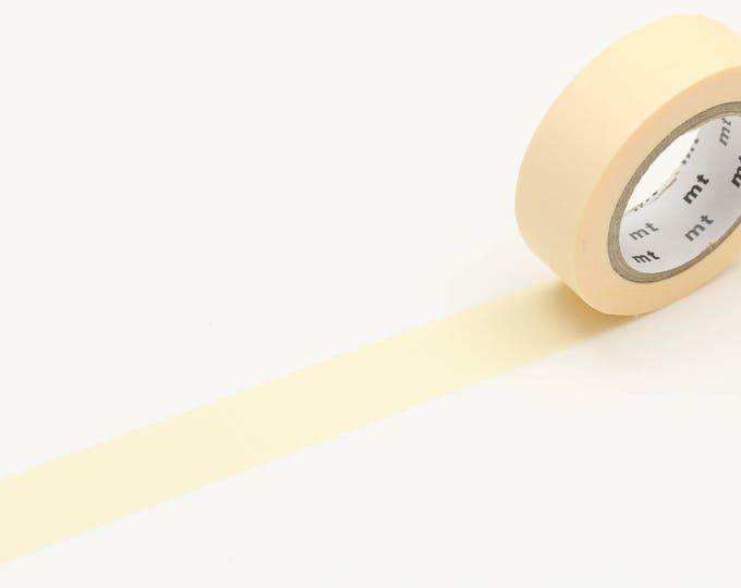 MT Washi tape - pastel ecru