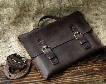 Leather Messenger Bag, Messenger Bag,Mens Messenger Bag,gift for men, Leather bag men, Leather ,Briefcase