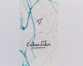 Cabeswater (The Raven Cycle) - Watercolor Bookmark