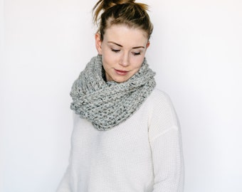 Infinity Scarf // in GREY
