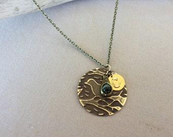 Custom Bird Necklace