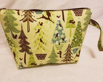 Medium Alpine Wonderland  Project Bag#2