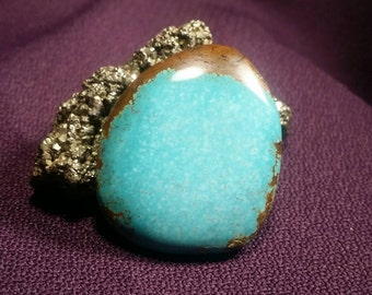 No. 8 Turquoise 'Natural' Gem Quality