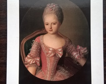 5 Portraits of children of tsars and tsarinas of Russia from 1700's to 1800's