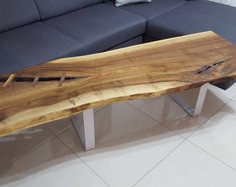 A walnut coffee table MATRIX2