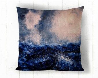 Kind of Blue Cushion