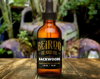 Beard Oil / Backwoods / essential oils / beard balm / manly scent / beard care / gifts for men / gifts for him / mens grooming / Beirdo