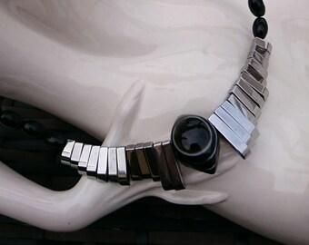 Onyx chain Shiva eye