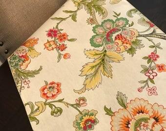 Spring Floral Table Runner | Summer Table Runner | Floral Table Runner | Tropical Table Runner | Wedding Table Runner | Easter Table Runner