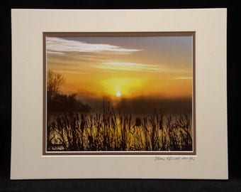 A Foggy Morning Sunrise 8x10 Print By ThomasMinutoloPhotos