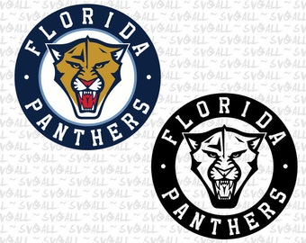 Florida Panthers Svg Files, Florida Panthers Png, Florida Panthers PDF, Florida Panthers EPS, Florida Panthers DXF Instant Download