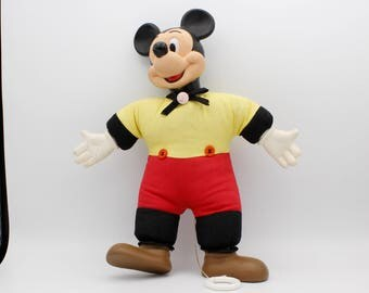 Vintage Horsman talking Mickey Mouse