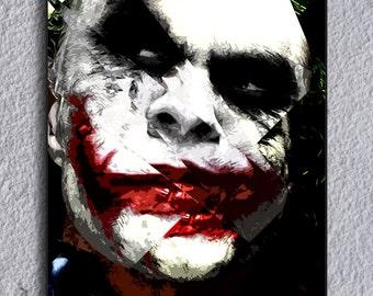 The Joker (Batman Dark Knight) Framed Print