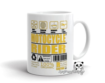 Passionate About Motorcycles Mug
