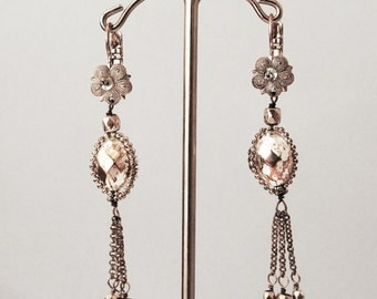 925 Silver pair of earrings