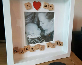 I Love My... Personalised Picture Frame
