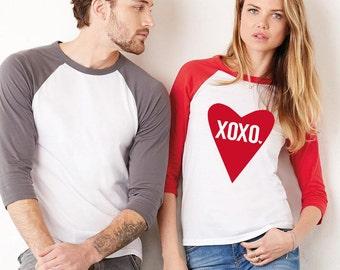 Women's XOXO Heart T-Shirt