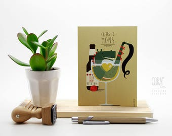 Card 'Mons to Cheers'