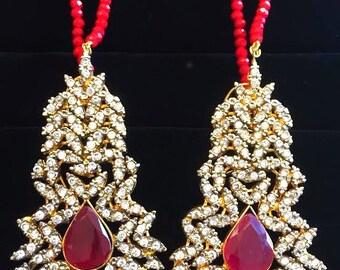 Bella Teeka & Earring Set
