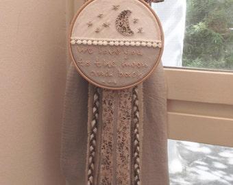 Baptism/Christening Candle/Lambada/Baptism Lambatha/Embroidery Hoop Candle/Greek Orthodox Baptism