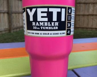 Yeti Powder Coated 30oz