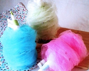 Novelty pillow Cotton Candy Food Plushie-Fair Food-Stuffie-Plush-novelty pillow, novelty food pillow