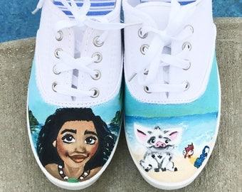 Disney Inspired Moana shoes!