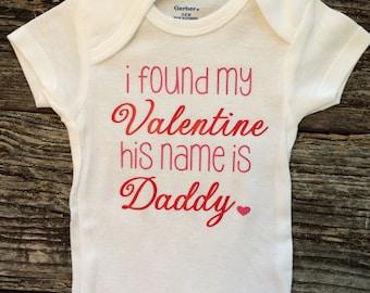 Valentines Girl Onesie, Baby girls Valentine onesie, Girls Valentine bodysuit, Valentines Day onesie for girls, Baby Valentine