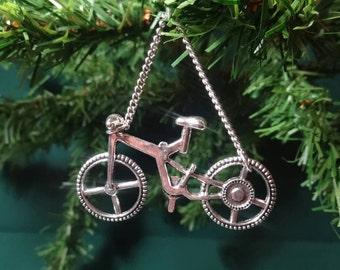 bicycle christmas ornament - Bicycle Christmas Ornament