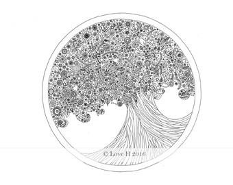 Summer Tree Print