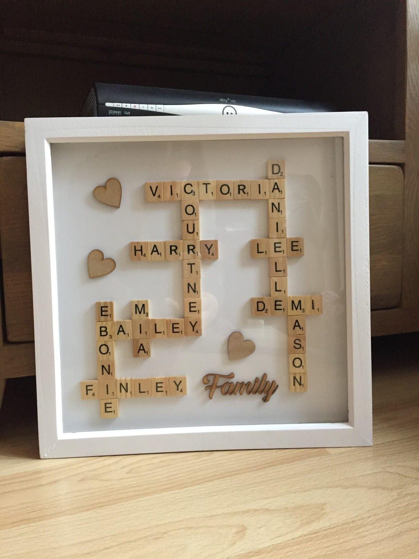 Scrabble Family Name Frames - Best Frames 2018