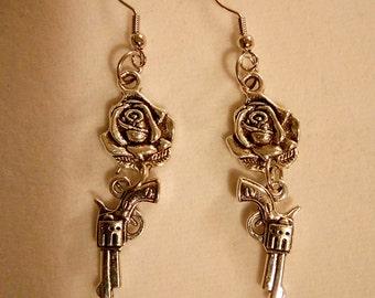 Guns & Roses Earrings