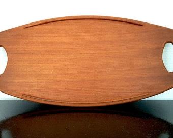 Danish Teak Tray | Jens Quistgaard | Dansk Design | 1960s