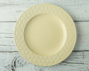 Yellow Ceramic Plate-Food Photography Props
