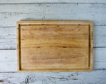 Weathered Wood Cutting Board-Food Photography Props