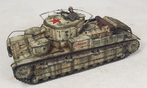 1/35 Built T-28 Resin