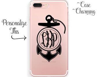 iPhone 7 Case Anchor iPhone 7 Plus Case Monogram iPhone 6 Case iPhone 6 Plus Case iPhone 6s Case iPhone 6s Plus Case iPhone SE Case Rubber