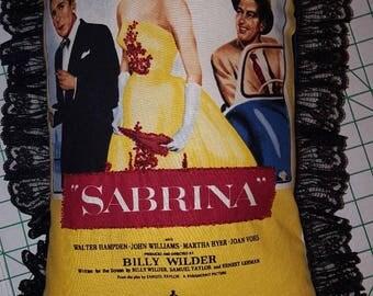 Audrey Hepburn Sabrina Pillow