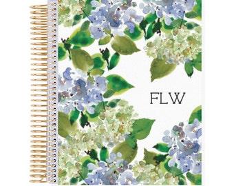 Blue Hydrangea Planner Cover (Digital)