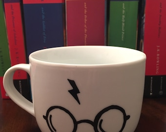 Harry Potter Scar Large Ceramic Mug