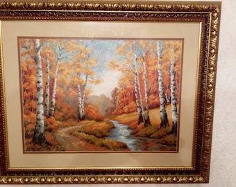 """Painting """"autumn landscape"""""""
