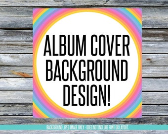 Facebook Album Cover Background Designs! Instant Download! LLRBGAL_06