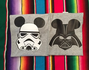Star Wars -Custom Darth Vader shirt - Star Wars Shirt- Disney Shirt- Add a name for FREE