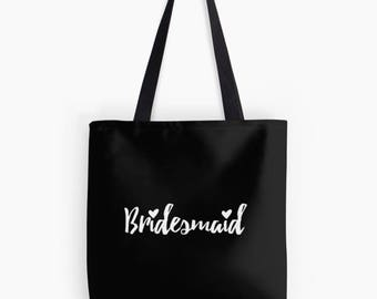 Bridal Tote Bag, Tote Bag, Bridesmaid gift, Bridesmaid Tote, Bride Bag, Wedding Tote Bag