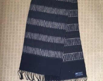 Vintage Made in Germany merino wool scarf