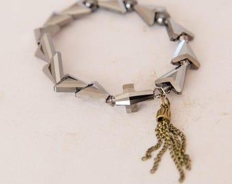 Silver Chasing Grace Bracelet