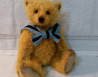 """Artist Bear """"Austin"""",one of a kind handmade bear"""
