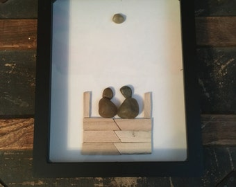 The Dock Pebble Art