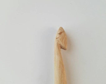 Hand Crafted,  Carved,  Sanded Reclaimed Wood, Gift of Nature Crochet Hooks MADE TO ORDER! <3