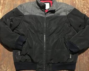 Vintage 2x Black And Gray Wool Coogi Jacket
